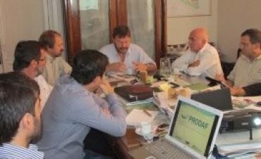 Presentaron una nueva agenda de trabajo para la puesta en marcha del Prodaf