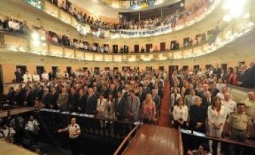 Referentes de distintos sectores destacaron el discurso del gobernador ante la Asamblea Legislativa