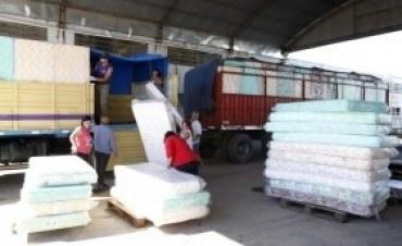 Desarrollo Social asiste a los damnificados por las intensas lluvias en San Juan y en Mendoza