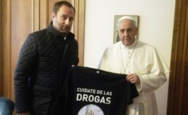 El Papa recibió en el Vaticano al titular de la Sedronar