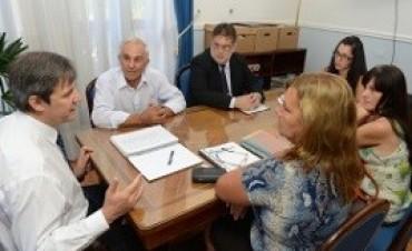 Obras y desarrollo productivo, temas de las reuniones en el Ministerio de Gobierno