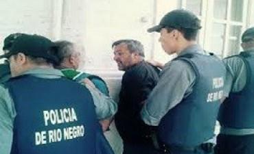 Detuvieron al secretario general de ATE Río Negro durante una protesta contra el presidente