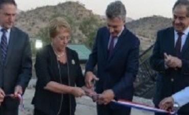 Macri y Bachelet se comprometieron a impulsar
