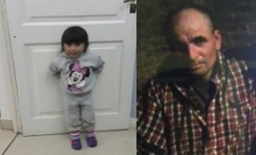 Un hombre asesinó a puñaladas a su mujer y huyó con la hija de tres años