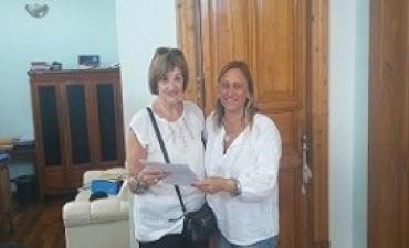 Se entregó un subsidio para mejoras en el edificio del Patronato de Señoras de Paraná
