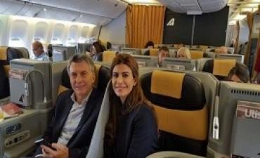 Macri viaja a España con 200 empresarios para iniciar gira oficial