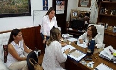 El Copnaf se reunió con representantes de distritos del departamento Feliciano