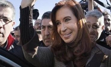 Cristina llamó a marchar junto a la CGT contra el Gobierno