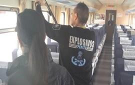 05/01/2018: Un tren que iba a Mar del Plata debió ser evacuado por una amenaza de bomba