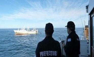 05/01/2018: Un buque español fue capturado por la Prefectura con más de 320 toneladas de pescado
