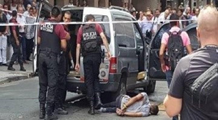 06/02/2018: Una jueza, un empleado judicial y un ladrón resultaron heridos en un tiroteo en la zona de Tribunales