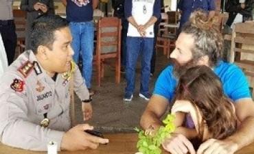 07/02/2018: Así encontraron en Indonesia a Alum junto a su papá