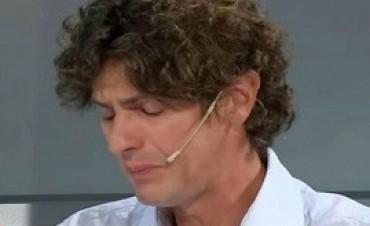 08/02/2018: Consternado, Lousteau despidió con lágrimas a Pérez Volpin