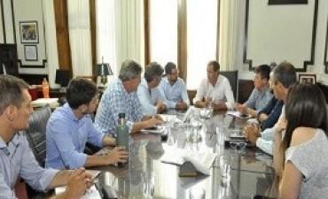 21/02/2018: El intendente de La Plata define junto a los concejales de Cambiemos las principales iniciativas