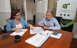 01/02/2019: Kunath y Benedetto repasaron gestiones ante el gobierno nacional sobre obras para la provincia