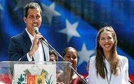 04/02/2019: uan Guaidó agradeció el apoyo de la Unión Europea y acusó a Nicolás Maduro de querer mover dinero a Uruguay