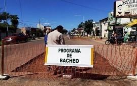 05/02/2019: El municipio intensifica el trabajo de bacheo en las principales arterias de la ciudad