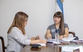 09/02/2019: Velázquez y Kunath reafirman el compromiso de trabajo en red en temáticas sociales y sanitarias