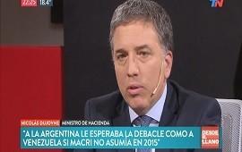 """25/02/2019: Nicolás Dujovne: """"Sin Macri, a la Argentina le esperaba una debacle como la de Venezuela"""""""