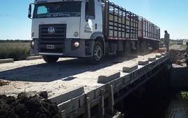 26/02/2019: Quedó habilitado el puente La Picada en Feliciano