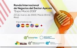 27/02/2019: Convocan a participar de la ronda internacional de negocios del sector apícola