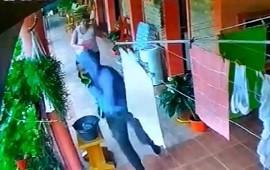 05/02/2021: Una vecina de Zorraquin enfrentó a un delincuente armado y lo puso en fuga