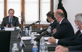 """22/02/2021: Bordet: """"Necesitamos volver a tener buques con bandera argentina en la Hidrovía Paraná Paraguay"""""""