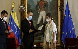 24/02/2021: Venezuela expulsó a la embajadora de la Unión Europea