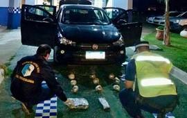 26/02/2021: olvieron a secuestrar droga en el paso fronterizo provincial