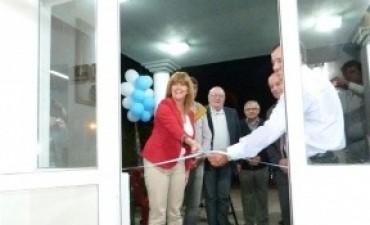 Se inauguró la nueva escuela secundaria y la sede comunal de Sauce Pinto