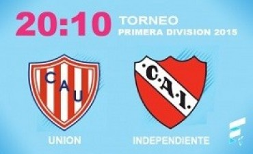 primera división Independiente busca afirmarse en Santa Fe   El Rojo, con Federico Mancuello en duda y los interrogantes que plantea su irregular rendimiento, juega ante Unión, que suma 15 fechas invicto entre la B Nacional y la máxima categoría, por