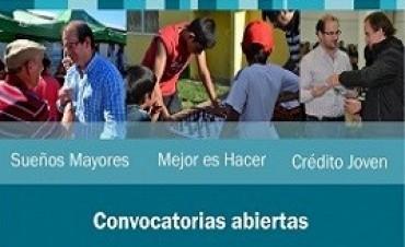 Se encuentran abiertas diferentes convocatorias de Desarrollo Social