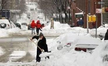 14/03/2017: Una tormenta de nieve provoca estragos en Nueva York