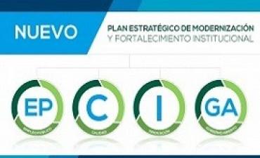 16/03/2017: El gobierno provincial lanzó el nuevo Plan de Modernización