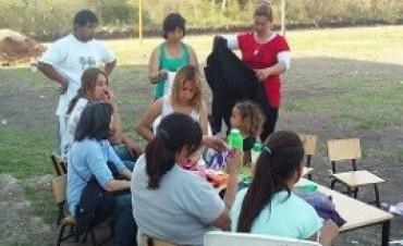 17/03/2017: Talleres inclusivos para niñas, niños y adolescentes en barrios de Gualeguaychú