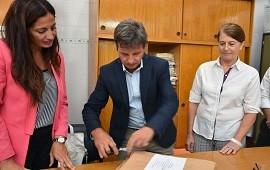 13/03/2018: La Unidad Ejecutora Provincial realizará nuevas obras escolares en Federación y Paraná