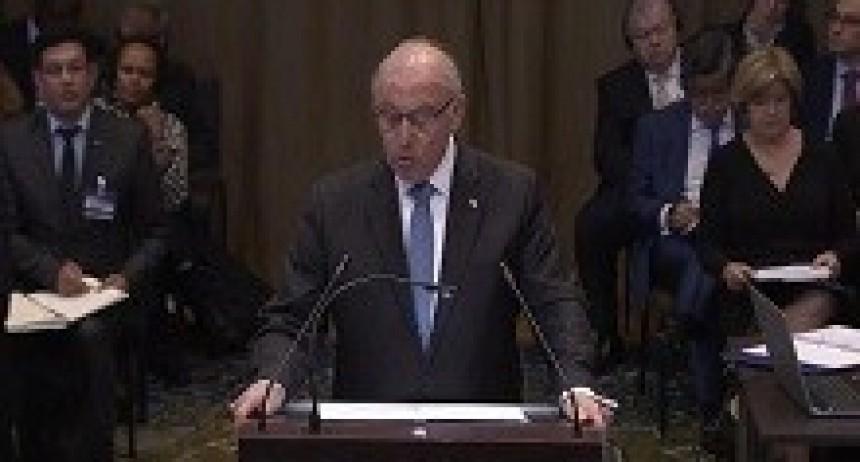 22/03/2018: Chile aseguró en La Haya que no está obligado a negociar una salida al mar para Bolivia
