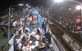 07/03/2019: La corona del carnaval de Concordia volvió a teñirse de verde y blanco