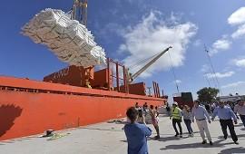 15/03/2019: Con el puerto de ultramar de Ibicuy vuelve a funcionar a pleno el sistema portuario entrerriano
