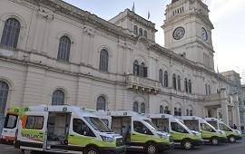 07/03/2019: El gobierno incorporó nuevas ambulancias al sistema público de salud