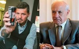 11/03/2019: Marcelo Tinelli almorzó con Roberto Lavagna
