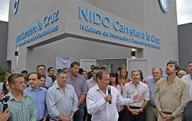 19/03/2019: Frigerio, Bordet y Cresto inauguraron el NIDO en la zona sur