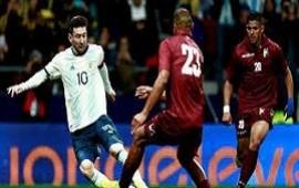 22/03/2019: Argentina, en el regreso de Messi, dejó una pobre imagen y perdió ante Venezuela