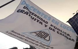 28/03/2019: Los docentes universitarios entrerrianos evalúan una nueva oferta salarial