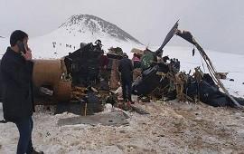 04/03/2021: Turquía: 11 militares muertos por caída de un helicóptero