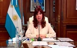 04/03/2021: Cristina Kirchner declaró en la causa de dólar futuro