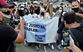 10/03/2021: Marcha por Maradona pidió esclarecimiento de su muerte