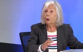 """10/03/2021: Beatriz Sarlo: """"La cuestión de las vacunas marca una zona de corrupción institucional que merecía que la Justicia se hiciera cargo"""""""
