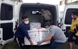 22/03/2021: Este lunes Entre Ríos recibió otras 10.200 dosis de la vacuna Sputnik V