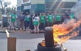 26/03/2021: Ruidosa protesta y movilización en la zona sur de Concordia